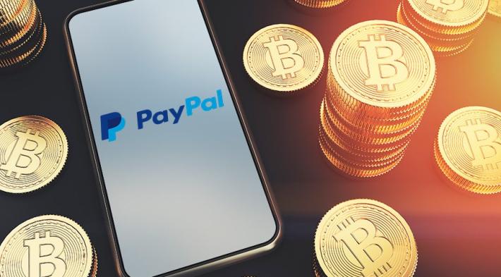 مستخدمو PayPal بإمكانهم الان البدء بالتعامل بالعملات الرقمية