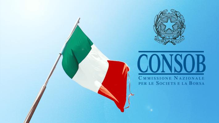 هيئة الرقابة الإيطالية Consob تحظر أكثر من 450 موقع لتداول الفوركس