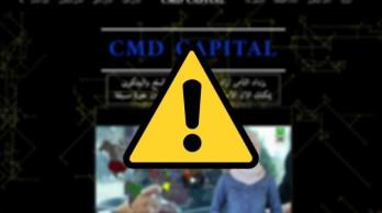 تحذير من التعامل مع شركة CMD Capital